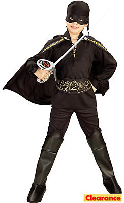 Boys Zorro Costume