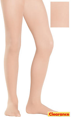 Child Nude Seamless Tights