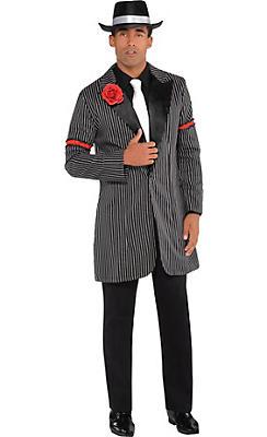 Black & White Zoot Suit Jacket