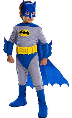Little Boys Batman Costume - The Brave and the Bold
