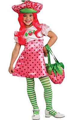 Girls Strawberry Shortcake Costume Deluxe