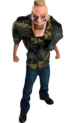 Boys Big Bruizer Soldier Costume