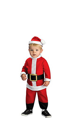 Toddler Boys Li'l Santa Suit