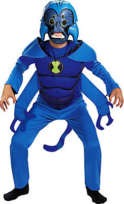 Boys Spidermonkey Costume - Ben 10