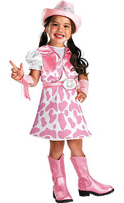 Toddler Girls Wild West Cutie Cowgirl Costume