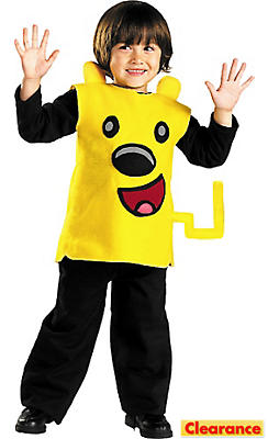 Toddler Boys Wubbzy Costume - Wow! Wow! Wubbzy!