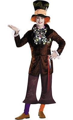Adult Mad Hatter Costume Prestige - Tim Burton's Alice in Wonderland