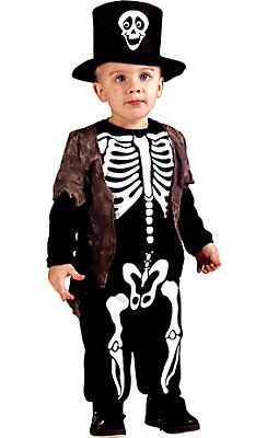 quick shop toddler boys happy skeleton costume - Skeleton Halloween Costume For Kids