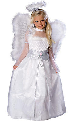 Girls Rosebud Angel Costume