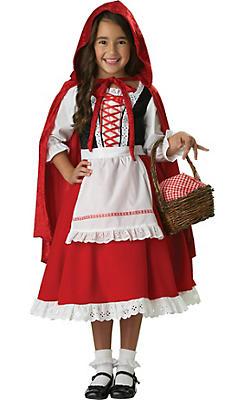 Girls Little Red Riding Hood Costume Elite