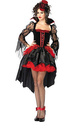 Adult Midnight Mistress Sexy Vampire Costume