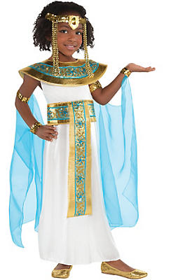 Little Girls Shimmer Cleopatra Costume