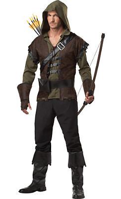 Adult Rugged Robin Hood Costume