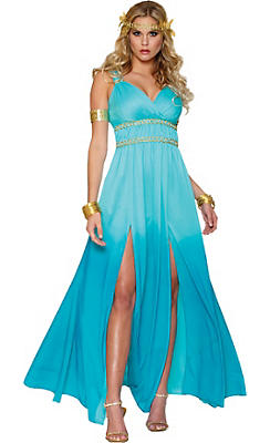 Adult Blue Aphrodite Costume
