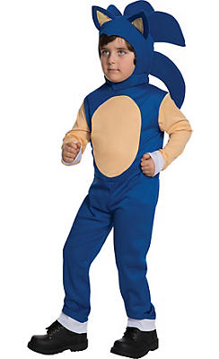 Boys Sonic Costume - Sonic the Hedgehog
