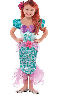 Girls Ariel Costume - The Little Mermaid