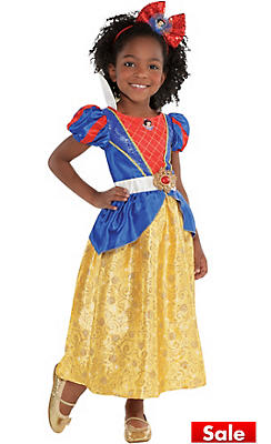 Toddler Girls Classic Snow White Costume