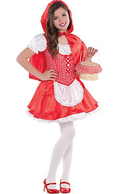 Girls Classic Red Riding Hood Costume