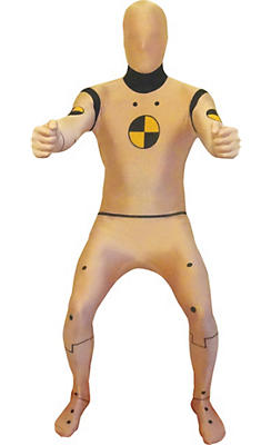 Adult Crash Test Dummy Morphsuit