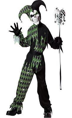 Boys Joke's On You Evil Jester Costume