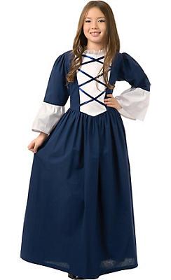 Girls Martha Washington Costume