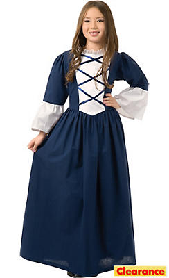 Girls First Lady Martha Washington Costume