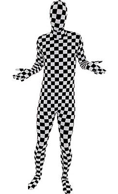 Adult Checkered Morphsuit