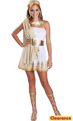 Teen Girls Glitzy Goddess Costume