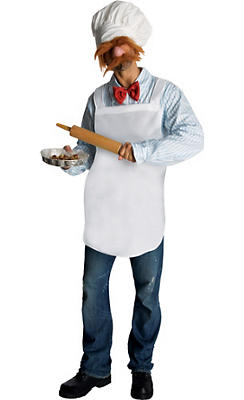 Adult Swedish Chef Costume - The Muppets