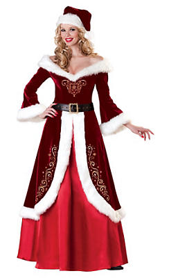 Adult Mrs. St. Nick Santa Suit Elite