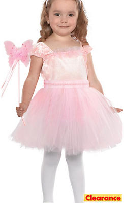Toddler Girls Pink Jacqueline Butterfly Fairy Costume