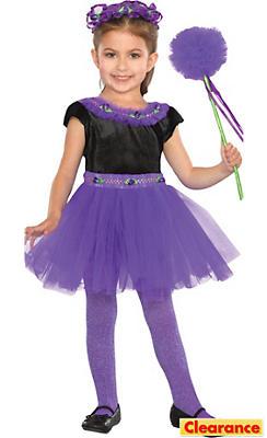 Toddler Girls Plum Purple Fairy Costume