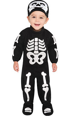 Baby Bitty Bones Skeleton Costume