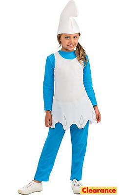 Girls Smurfette Costume - The Smurfs 2