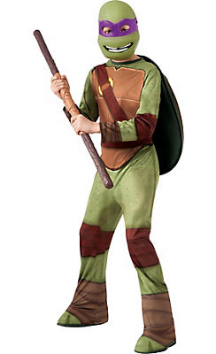 Boys Donatello Costume - Teenage Mutant Ninja Turtles