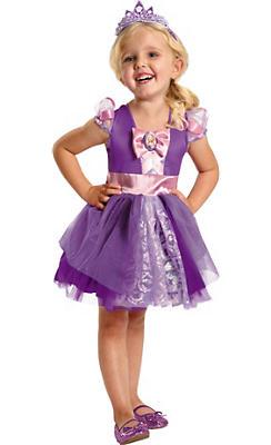 Toddler Girls Rapunzel Ballerina Costume