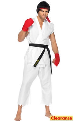 Adult Ryu Costume - Street Fighter II