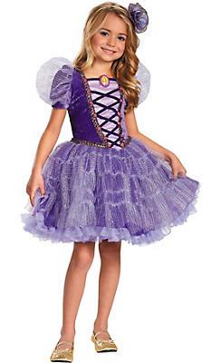 Girls Rapunzel Tutu Costume Prestige