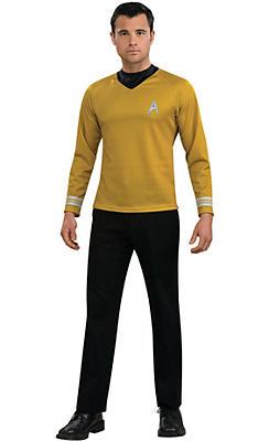 Adult Captain Kirk Costume - Star Trek 2