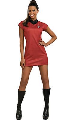 Adult Uhura Costume Deluxe - Star Trek 2