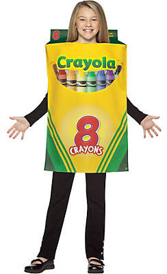 Girls Crayola Crayon Box Costume