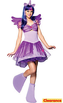 Adult Sassy Twilight Sparkle Costume - My Little Pony
