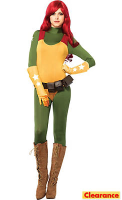 Adult Sassy Scarlett Costume - G.I. Joe