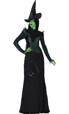 Adult Elphaba Costume Deluxe - Wicked