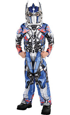 Little Boys Optimus Prime Muscle Costume - Transformers 4