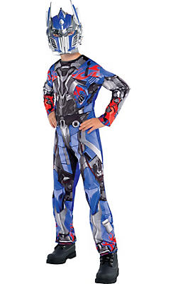Boys Optimus Prime Costume - Transformers 4