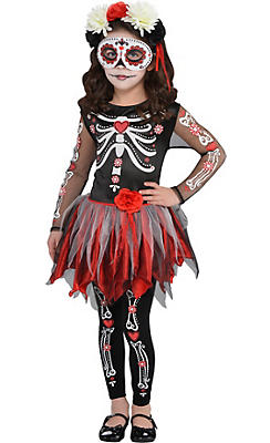 Little Girls Scared to the Bone Costume