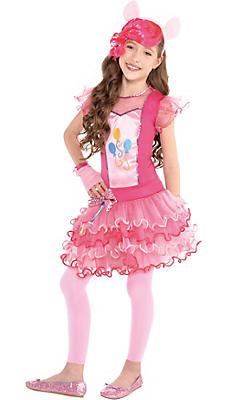 Girls Pinkie Pie Costume - My Little Pony