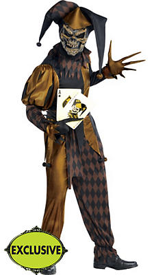 Adult Joker's Wild Skeleton Costume