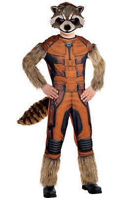Boys Rocket Raccoon Costume - Guardians of the Galaxy